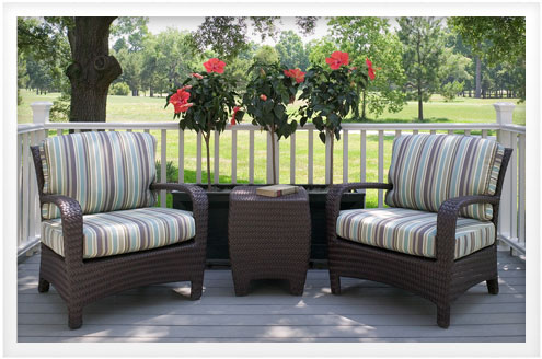 Sunbrella what you should know about sunbrella fabric for Best material for outdoor furniture