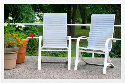 Director's ... - Sling-back Patio Chair Do-It-Yourself Advice Blog.