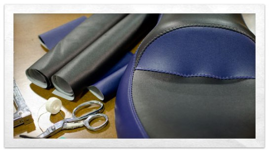 How To Recover A Motorcycle Seat DoItYourself Advice Blog - Stretch vinyl for motorcycle seat