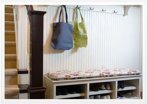 How to make a window seat cushion with piping