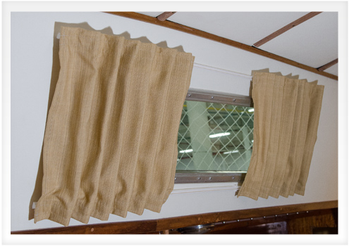 Boat Interior Design how to make boat interior curtains | do-it-yourself advice blog.