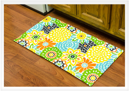 How To Make A No Sew Fabric Rug Do It Yourself Advice Blog