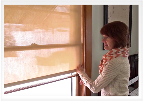 How to Make Your Own Roller Shade | Do-It-Yourself Advice ...