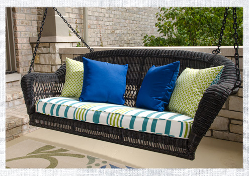 Porch swing cushion do it yourself advice blog 2014april porch swing solutioingenieria Images