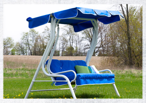 2014_May-Swing-Chair-1 & How to Make a Replacement Swing Canopy | Do-It-Yourself Advice Blog.