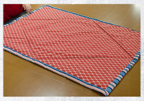 how to make a quilted picnic blanket do it yourself advice blog
