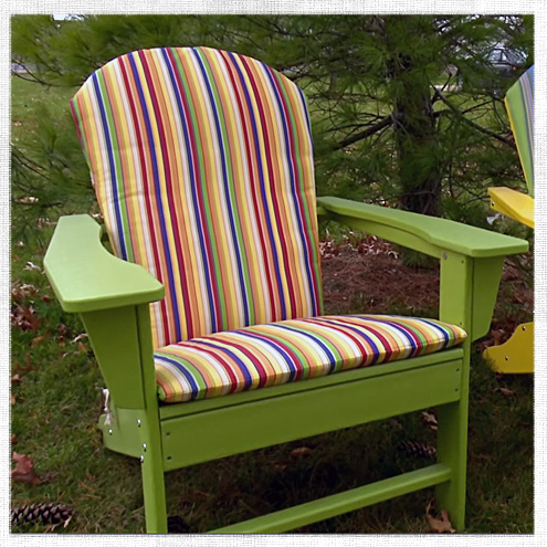 how make chair cushion adirondack cushions lowes sale sunbrella