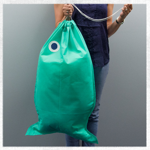 How to make a fish shaped laundry bag do it yourself advice blog how to make a fish shaped laundry bag solutioingenieria Choice Image
