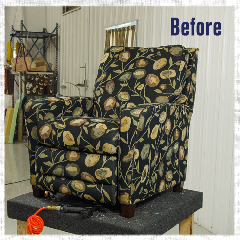 How to Reupholster a Recliner