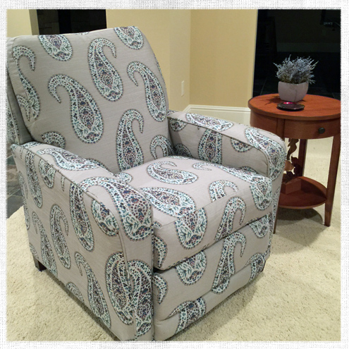 How To Recover A Recliner Seat Cushion Do It Yourself