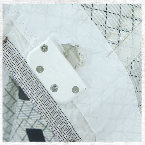 How to Repair Torn Batten Pockets