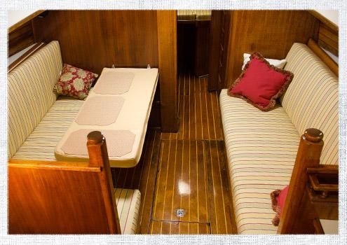 Cockpit vs. Cabin Cushion Fabric
