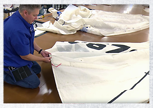 How to Repair Sails: A Video Series