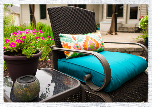How to recover a bullnose patio cushion do it yourself advice blog how to recover a bullnose patio cushion solutioingenieria Choice Image