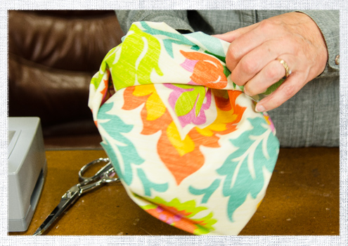 Easy DIY Flanged Pillow