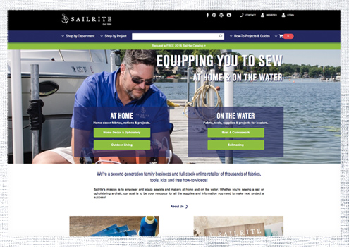 Introducing the New Look of Sailrite.com